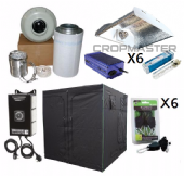 315w CDM 3m x 3m HEAVY DUTY Premium Grow Tent Kits